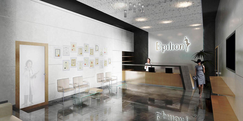 Enterijer dermatološkog centra Epilion, Beograd (Đorđe Alfirević, Nevena Mrđen, 2011) - idejni projekat