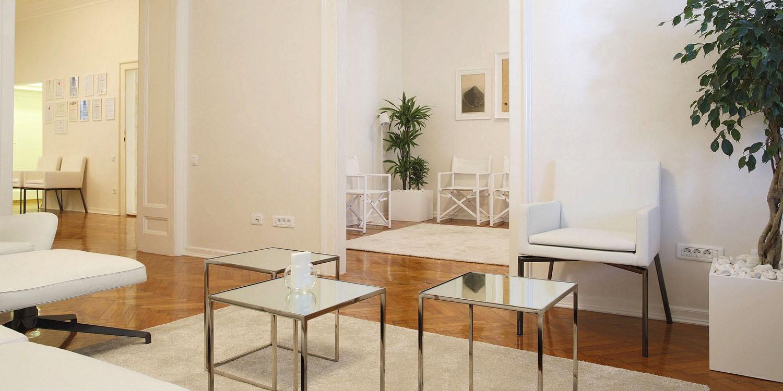 Enterijer psihoanalitičkog savetovališta Rakić-Glišić, Beograd (Studio Alfirević, 2012)
