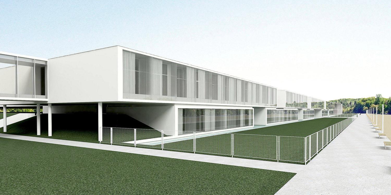 Hotelsko-banjski kompleks, Palić (Studio Alfirević, 2014) - konkursno rešenje