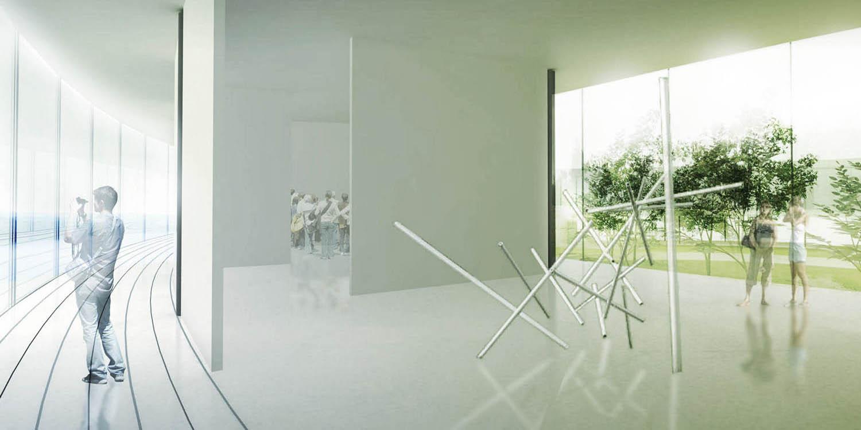 Muzej savremene umetnosti Vojvodine, Novi Sad (Đorđe Alfirević, Ana Čarapić, 2007) - konkursno rešenje