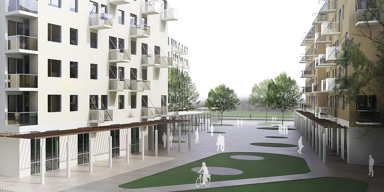 Stambeno-poslovni kompleks Ovča, Beograd (Đorđe Alfirević, Darko Marušić, Milenija Marušić, 2011) - otkup, konkursno rešenje