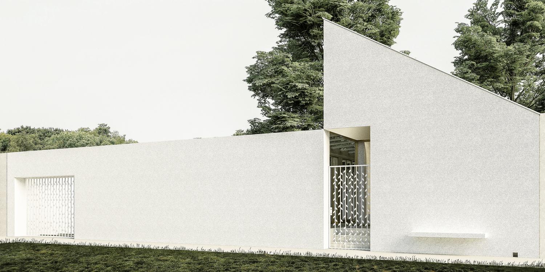 Solarna vojvođanska kuća, Vojvodina (Studio Alfirević, 2014) - idejno rešenje