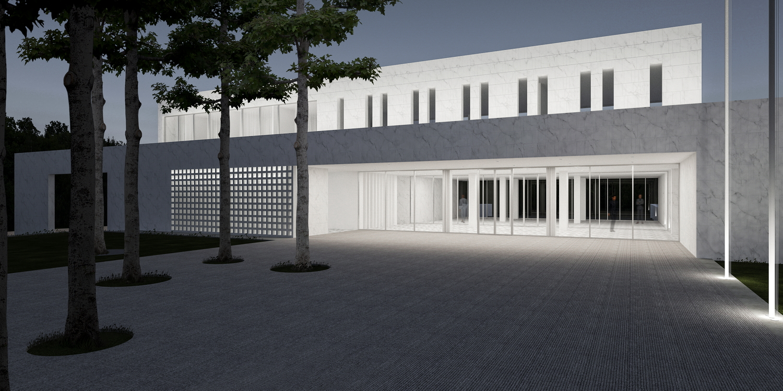 Ambasada Republike Srbije, Kambera (Studio Alfirević, 2018) - konkursno rešenje