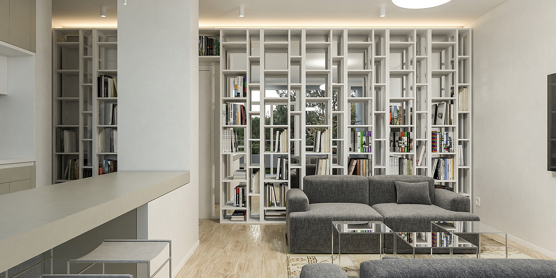 Enterijer stana Matović, Beograd (Studio Alfirević, 2020)